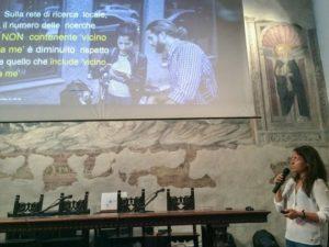 """Chiara Poli intervento Fabriano creative city """"Beni culturali 4.0"""""""